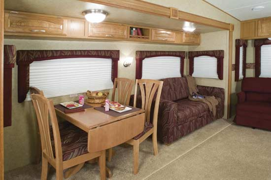 Green Magic Carpet Cleaning RV Interior